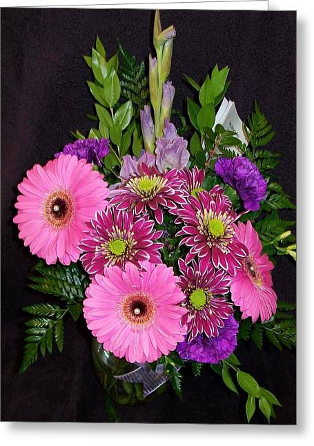 Daughter Gift Greeting Cards - Mothers Day Bouquet Greeting Card by Sharon Duguay