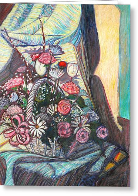 Basket Pastels Greeting Cards - Mothers Day Gift Greeting Card by Kendall Kessler