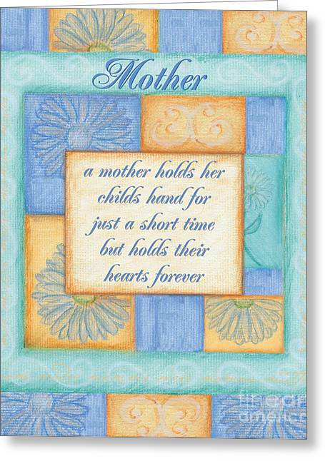 Sentiment Greeting Cards - Mothers Day Spa card Greeting Card by Debbie DeWitt