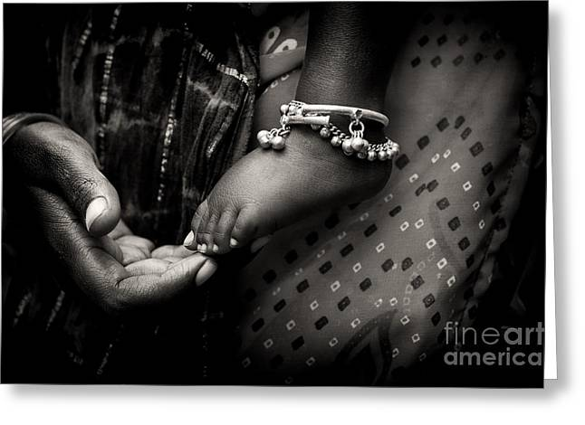 Bracelet Greeting Cards - Mothers Love Greeting Card by Tim Gainey