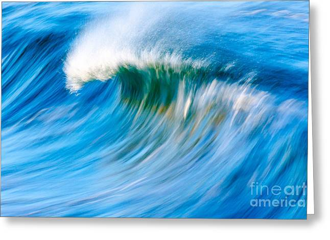 Motion Captured Greeting Card by Paul Topp