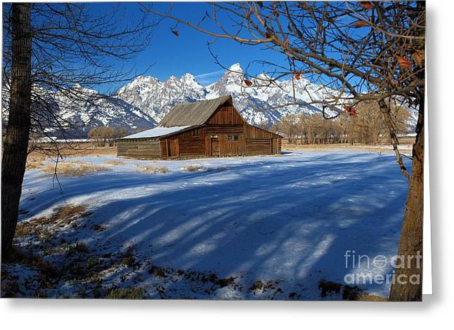 Most Photographs Greeting Cards - Moulton Barn Greeting Card by Adam Jewell