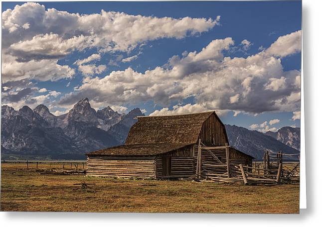 Rocky Mountain Posters Greeting Cards - Moulton Barn - Grand Teton National Park Wyoming Greeting Card by Brian Harig