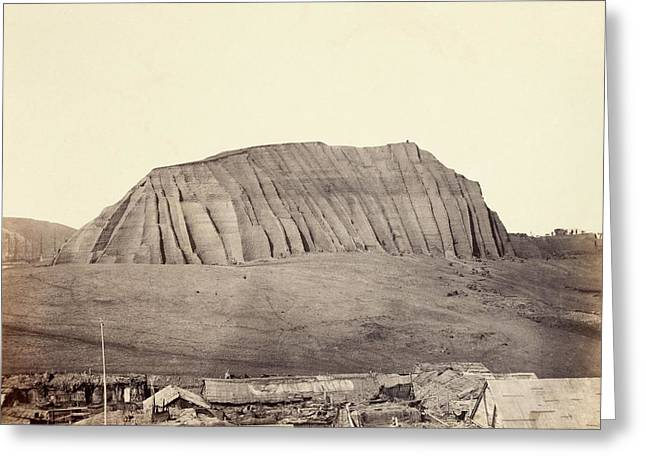 Mound Of Guano Greeting Card by Photography Collection, Miriam And Ira D. Wallach Division Of Art, Prints And Photographs/new York Public Library