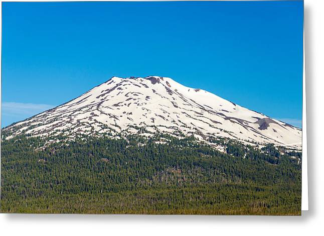 Mt Bachelor Greeting Cards - Mount Bachelor Closeup Greeting Card by Jess Kraft