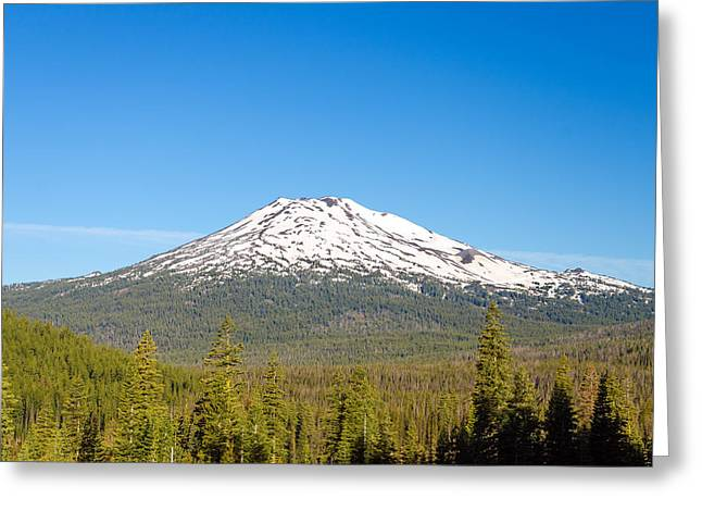 Mt Bachelor Greeting Cards - Mount Bachelor Greeting Card by Jess Kraft