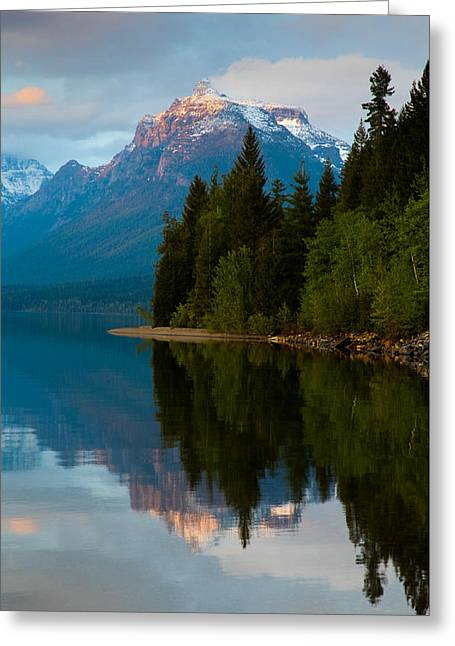 Mount Cannon Greeting Card by Aaron Aldrich