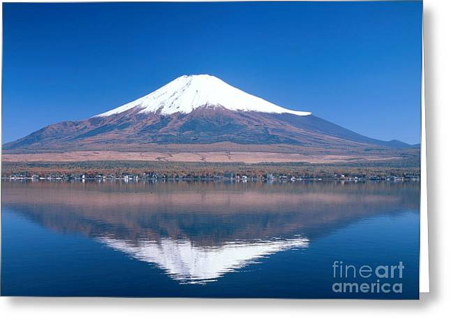 Recently Sold -  - Geology Photographs Greeting Cards - Mount Fuji Greeting Card by Masao Hayashi
