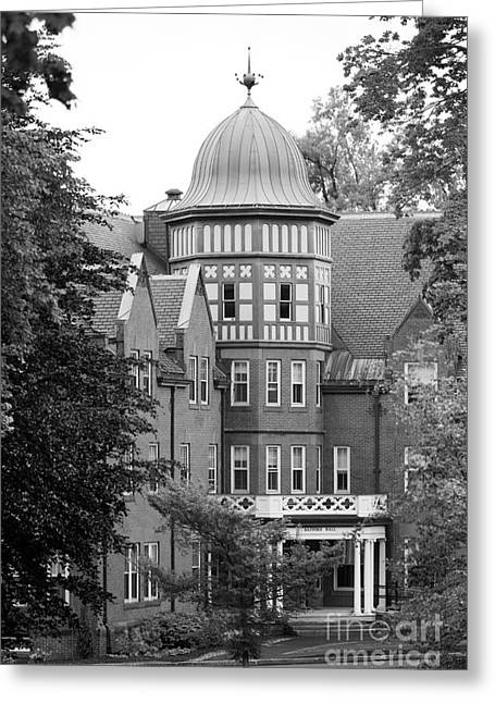 Alma Mater Photographs Greeting Cards - Mount Holyoke College Safford Hall Greeting Card by University Icons