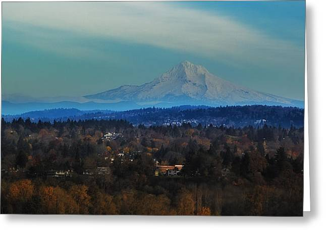 Mount Hood Oregon Greeting Cards - Mount Hood Greeting Card by James Heckt