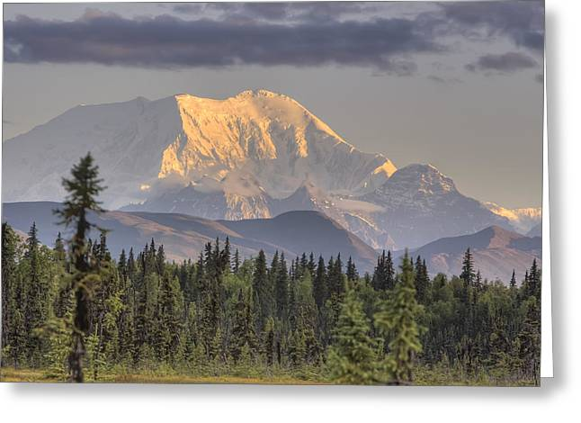 Hdr Landscape Greeting Cards - Mount Mckinley Taken Just South Of Greeting Card by Michael Criss