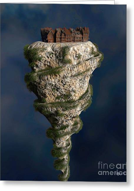 Liberal Sculptures Greeting Cards - Mount Modernist Greeting Card by Dave Luebbert