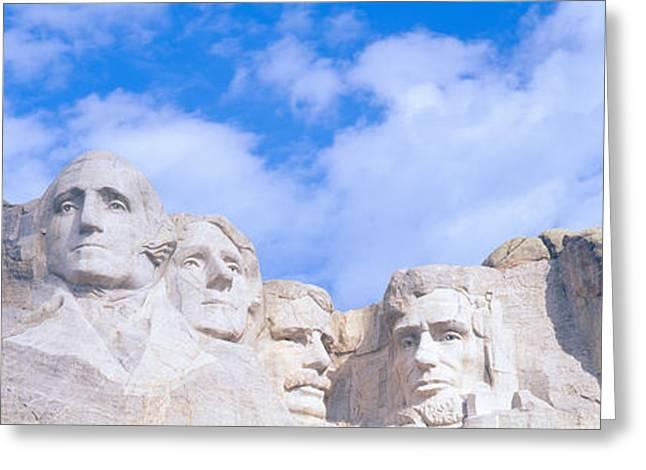Mount Rushmore, South Dakota Greeting Card by Panoramic Images