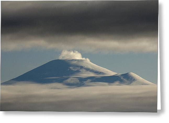 A. Paré Greeting Cards - Mount Sanford  Wrangell-st. Elias Np Greeting Card by Michael Quinton