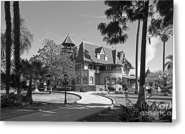 Mount St. Mary's University Doheny Mansion Greeting Card by University Icons