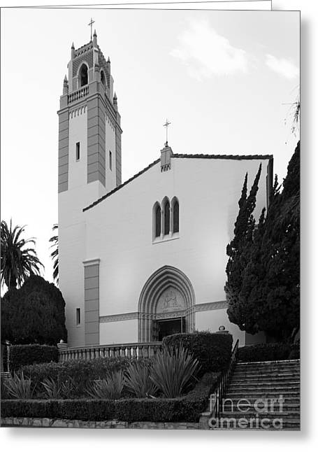 Staff Office Greeting Cards - Mount St. Marys University Mary Chapel Greeting Card by University Icons