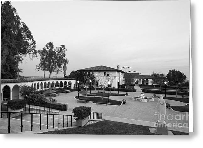 Staff Office Greeting Cards - Mount St. Marys University The Colonnade Greeting Card by University Icons
