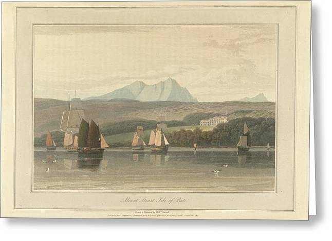 Mount Stuart On The Isle Of Bute Greeting Card by British Library