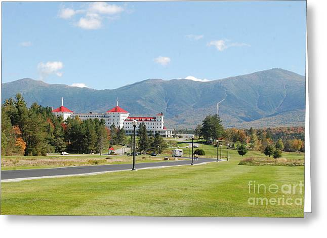 The Mount Washington Hotel Greeting Cards - Mount Washington Hotel In New Hampshires White Mountains Greeting Card by Eunice Miller