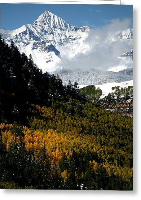 Mount Wilson Greeting Cards - Mount Wilson in autumn Greeting Card by Jetson Nguyen
