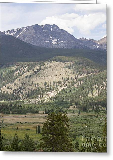 Kaypickens.com Photographs Greeting Cards - Mount Ypsilon Greeting Card by Kay Pickens
