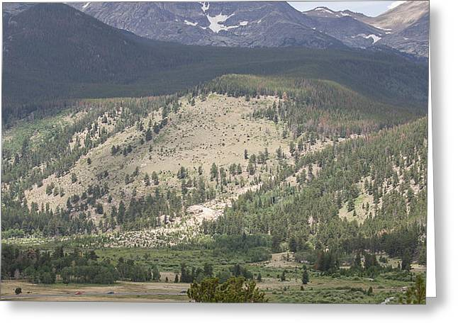 Mount Ypsilon Greeting Card by Kay Pickens