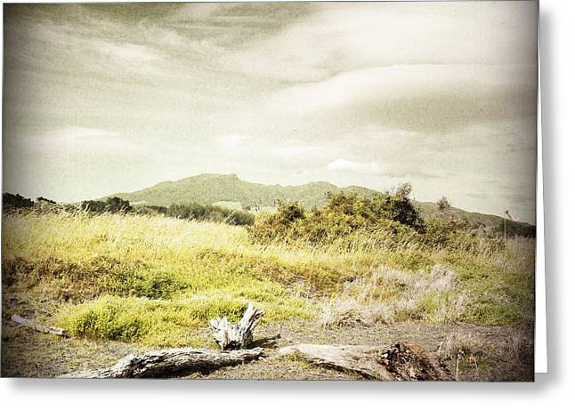 Mountain Valley Greeting Cards - Mountain  Greeting Card by Les Cunliffe