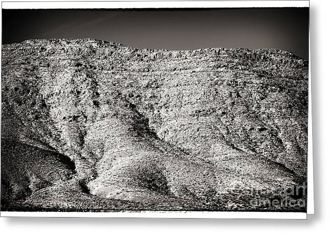 Brown Tones Greeting Cards - Mountain Mounds Greeting Card by John Rizzuto
