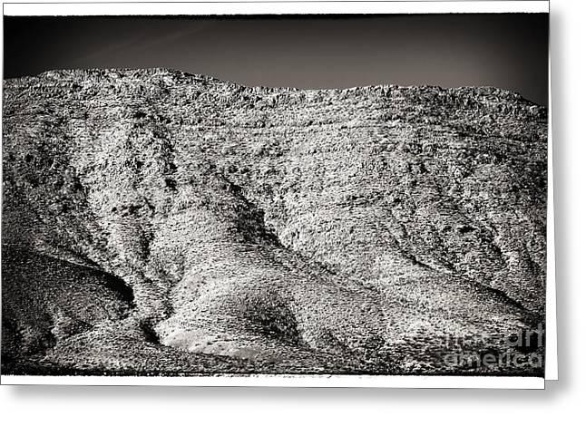 Mountain Mounds Greeting Card by John Rizzuto