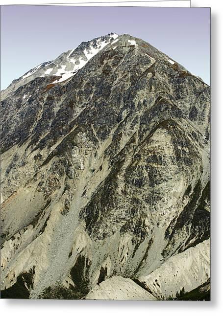 Pinnacle Peak Greeting Cards - Mountain Peak Greeting Card by Randy Bradley