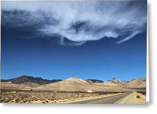 Mountain Range Of Sierra Nevada Greeting Card by Viktor Savchenko