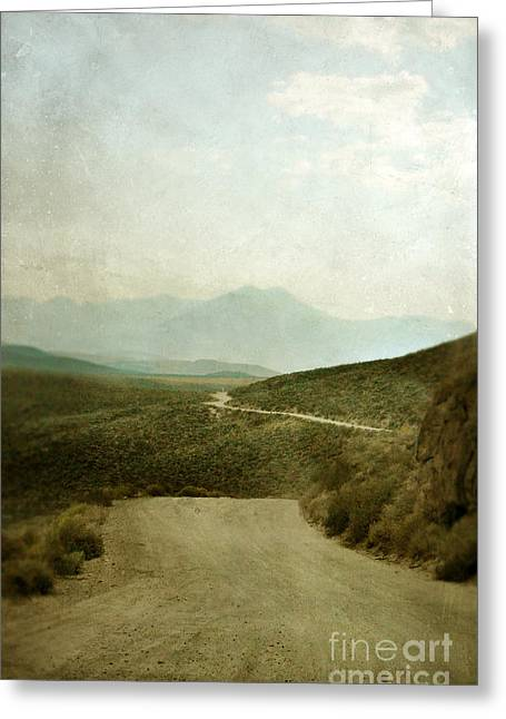 Mountain Road Greeting Cards - Mountain Road Greeting Card by Jill Battaglia