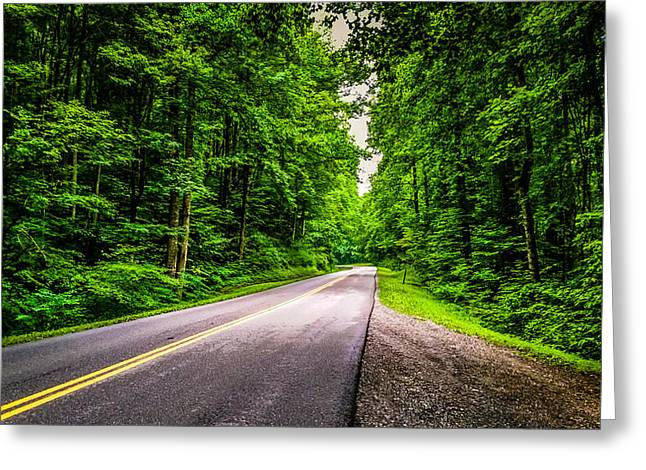 Mountain Road Greeting Cards - Mountain Road Greeting Card by Joe Leone