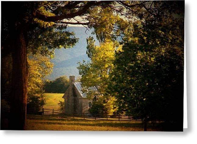 Frederick Greeting Cards - Mountain Scene Greeting Card by Joyce Kimble Smith