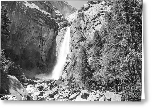 Shower Curtain Greeting Cards - Mountain Scenery Yosemite Np No27 Greeting Card by  ILONA ANITA TIGGES - GOETZE  ART and Photography