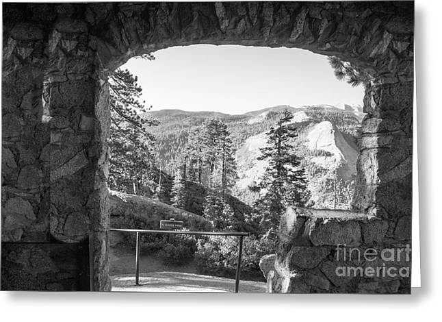 Shower Curtain Greeting Cards - Mountain Scenery Yosemite Np No28 Greeting Card by  ILONA ANITA TIGGES - GOETZE  ART and Photography