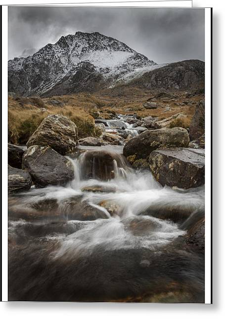 Bedford Hills Greeting Cards - Mountain Stream  Greeting Card by Lee  Bedford