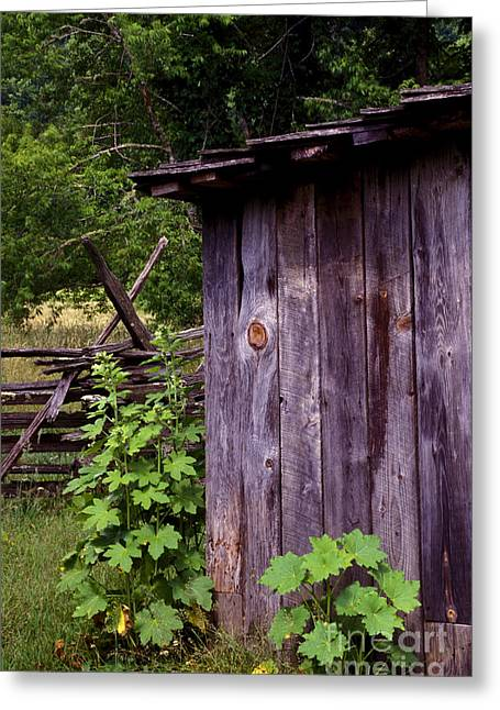 Wood Shed Greeting Cards - Mountain Thrown Room Greeting Card by Paul W Faust -  Impressions of Light