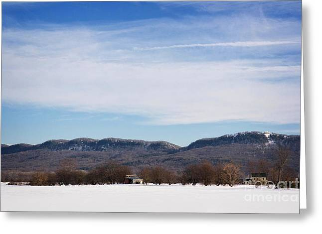 Mountain View Greeting Cards - Mountain View Greeting Card by HD Connelly