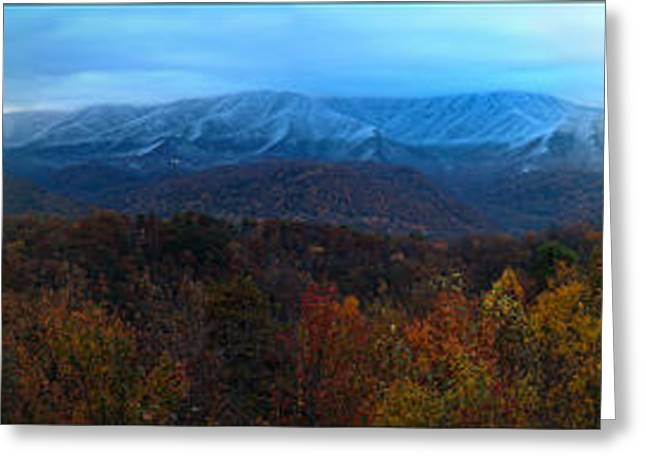 Gatlinburg Tennessee Greeting Cards - Mountain View Greeting Card by Nunweiler Photography