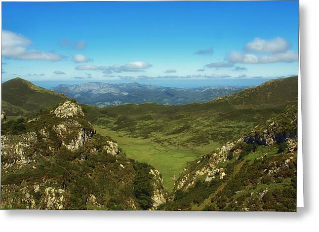 Galicia Greeting Cards - Mountains of Galicia Greeting Card by Mountain Dreams