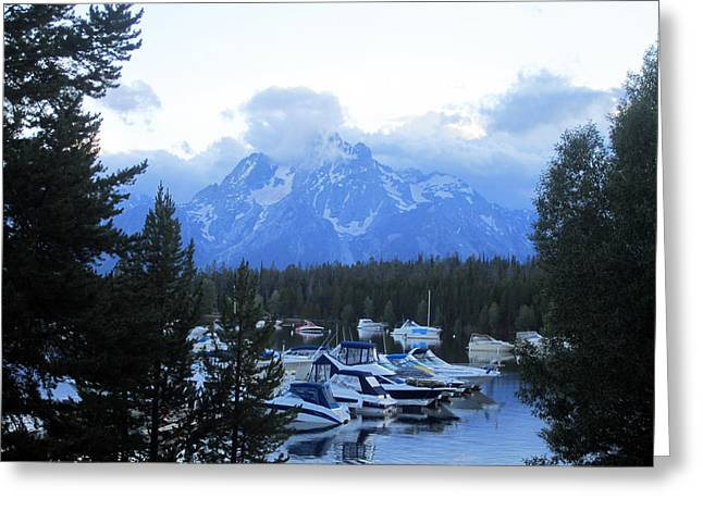 Mountains Of Grandeur Greeting Card by Mike Podhorzer
