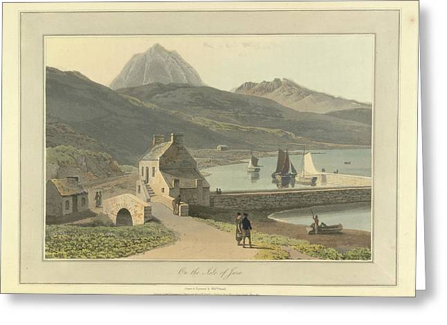 Mountains On The Isle Of Jura Greeting Card by British Library