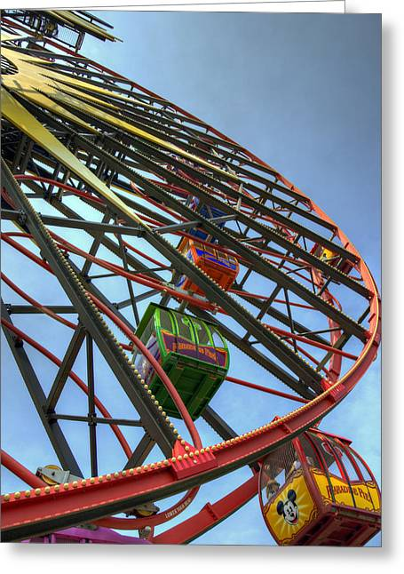 Anaheim California Greeting Cards - Mouse Wheel Greeting Card by Ricky Barnard