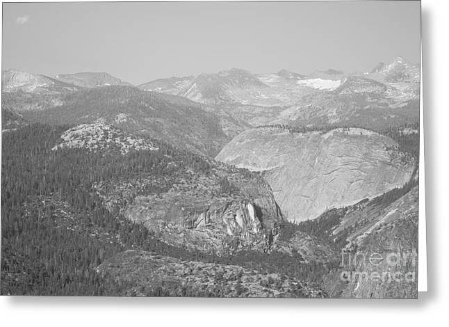 Shower Curtain Greeting Cards - Moutain Scenery Yosemite NP No11 Greeting Card by  ILONA ANITA TIGGES - GOETZE  ART and Photography