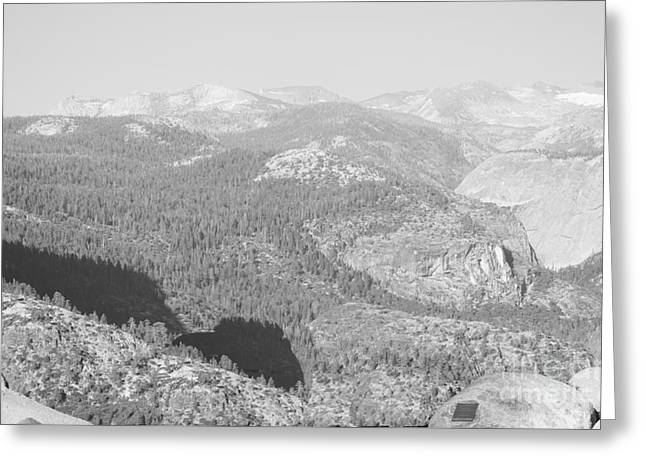Shower Curtain Greeting Cards - Moutain Scenery Yosemite NP No10 Greeting Card by  ILONA ANITA TIGGES - GOETZE  ART and Photography