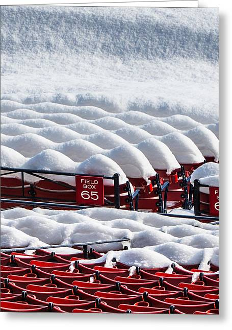 Fenway Park Greeting Cards - Move Over Greeting Card by Paul Treseler