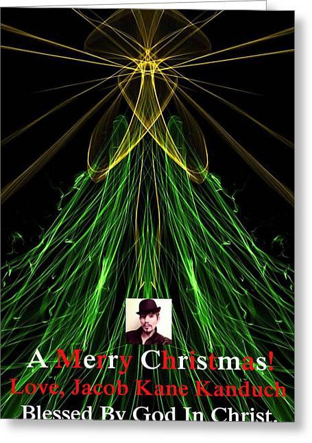 Family Love Greeting Cards - MoveOnArt A Merry Christmas Love Jacob Kanduch Greeting Card by Jacob Kanduch