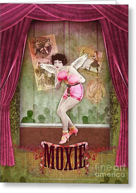 Stewart Greeting Cards - Moxie Greeting Card by Aimee Stewart