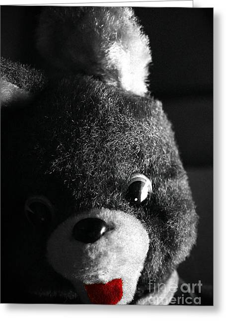 Child Toy Greeting Cards - Mr. Bear Greeting Card by Trish Mistric